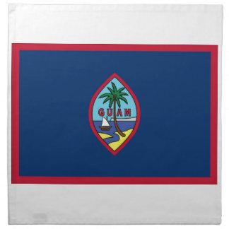 Low Cost! Guam Flag Napkin