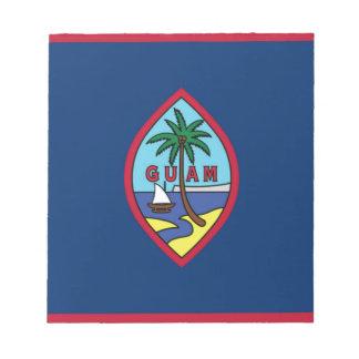 Low Cost! Guam Flag Notepad