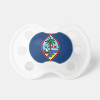 Low Cost! Guam Flag Pacifier