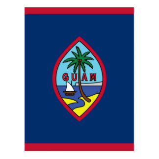Low Cost! Guam Flag Postcard