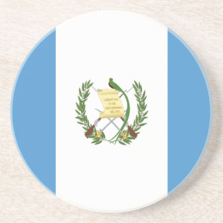 Low Cost! Guatemala Flag Coaster