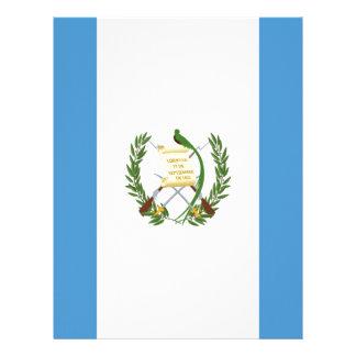 Low Cost! Guatemala Flag Letterhead