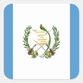 Low Cost! Guatemala Flag Square Sticker