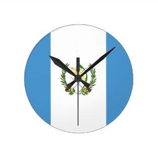 Low Cost! Guatemala Flag Wall Clock
