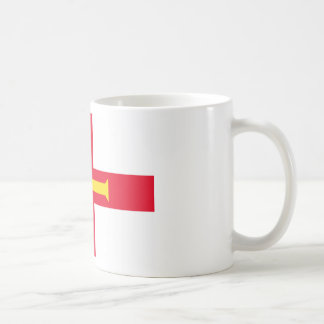 Low Cost! Guernsey Flag Coffee Mug