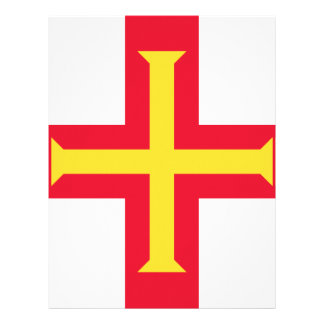 Low Cost! Guernsey Flag Letterhead
