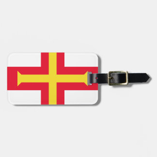 Low Cost! Guernsey Flag Luggage Tag