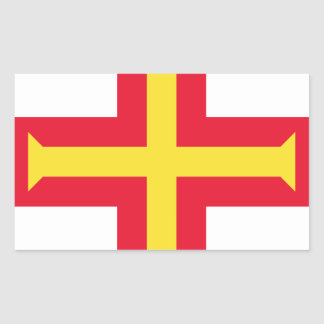 Low Cost! Guernsey Flag Sticker
