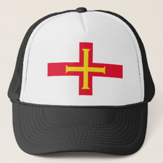 Low Cost! Guernsey Flag Trucker Hat