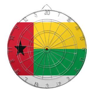 Low Cost! Guinea-Bissau Flag Dartboard