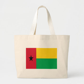 Low Cost! Guinea-Bissau Flag Large Tote Bag