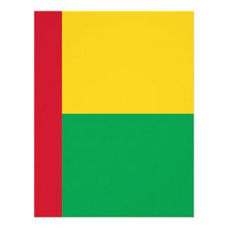 Low Cost! Guinea-Bissau Flag Letterhead Template