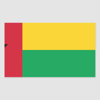 Low Cost! Guinea-Bissau Flag Sticker