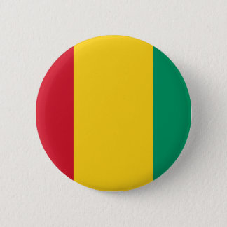 Low Cost! Guinea Flag 2 Inch Round Button