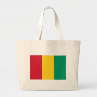 Low Cost! Guinea Flag Large Tote Bag