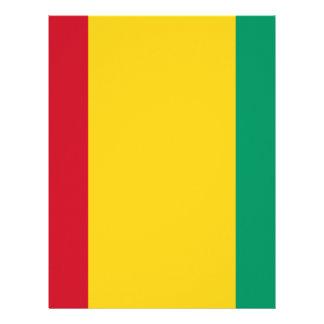 Low Cost! Guinea Flag Letterhead