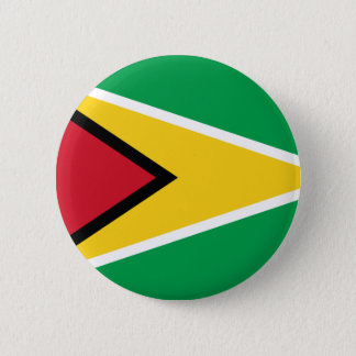Low Cost! Guyana Flag 2 Inch Round Button