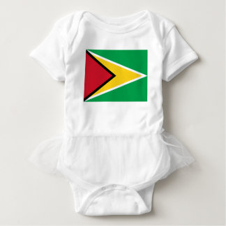 Low Cost! Guyana Flag Baby Bodysuit