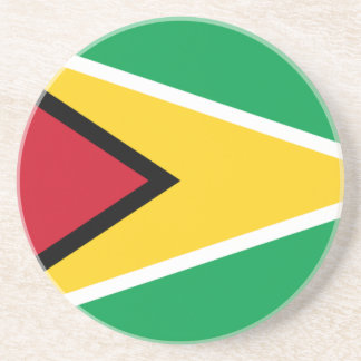 Low Cost! Guyana Flag Coasters