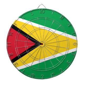 Low Cost! Guyana Flag Dartboard