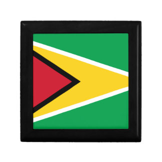 Low Cost! Guyana Flag Gift Box