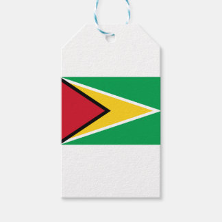 Low Cost! Guyana Flag Gift Tags