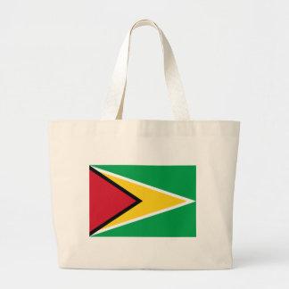 Low Cost! Guyana Flag Large Tote Bag