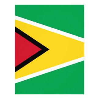 Low Cost! Guyana Flag Letterhead