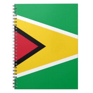 Low Cost! Guyana Flag Notebook