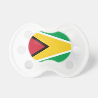 Low Cost! Guyana Flag Pacifier