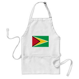 Low Cost! Guyana Flag Standard Apron
