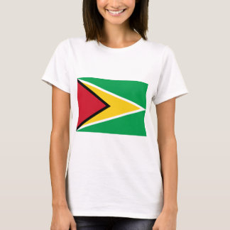 Low Cost! Guyana Flag T-Shirt