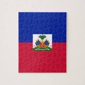 Low Cost! Haiti Flag Jigsaw Puzzle