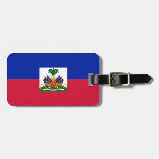 Low Cost! Haiti Flag Luggage Tag