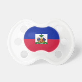 Low Cost! Haiti Flag Pacifier