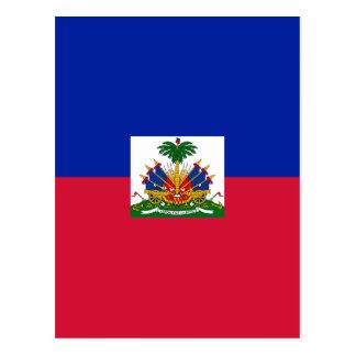 Low Cost! Haiti Flag Postcard