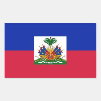 Low Cost! Haiti Flag Sticker