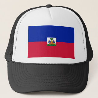 Low Cost! Haiti Flag Trucker Hat