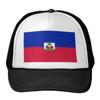 Low Cost! Haiti Flag Trucker Hat