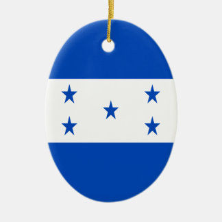 Low Cost! Honduras Flag Ceramic Oval Ornament
