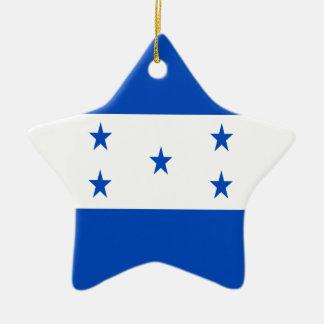 Low Cost! Honduras Flag Ceramic Star Ornament