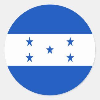 Low Cost! Honduras Flag Classic Round Sticker