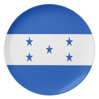 Low Cost! Honduras Flag Plate