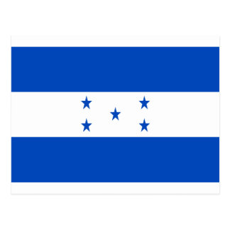 Low Cost! Honduras Flag Postcard