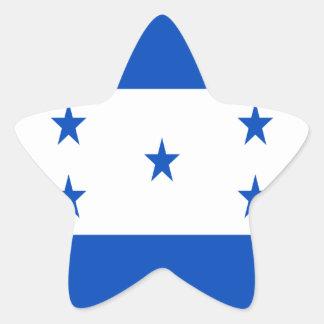 Low Cost! Honduras Flag Star Sticker