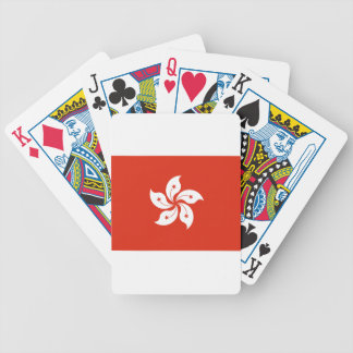 Low Cost! Hong Kong Flag Bicycle Playing Cards