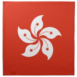 Low Cost! Hong Kong Flag Napkin
