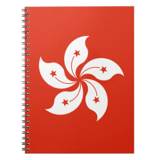 Low Cost! Hong Kong Flag Note Books