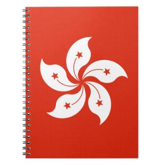 Low Cost! Hong Kong Flag Notebooks