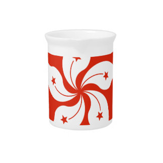 Low Cost! Hong Kong Flag Pitcher